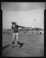 Kenny Washington on Spaulding Field at UCLA, Los Angeles, 1936-1939