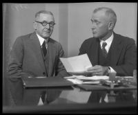 John D. Kennedy appears with Judge Richardson in relation to the battery of Arthur C. Burch.