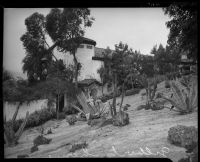 House of actor, John Gilbert, shortly after his death, Beverly Hills, 1936
