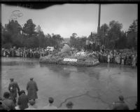 """Neptune's Chariot"" float in the Tournament of Roses Parade, Pasadena, 1934"